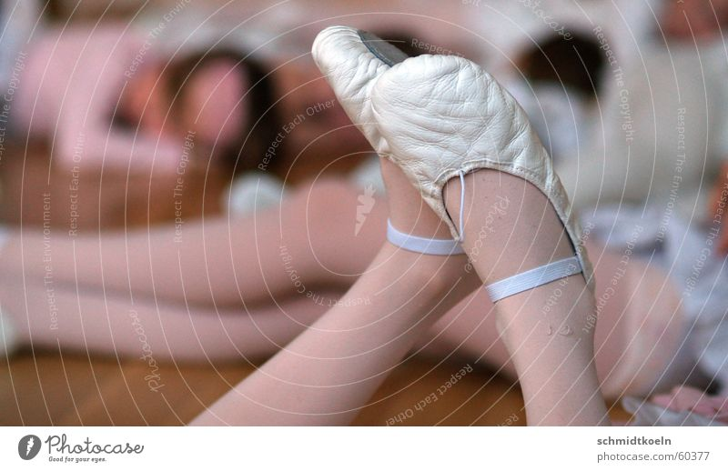 dancing shoes Footwear Dancing shoes Ballet Break Relaxation Stockings Tights Dancing school Dance Sports Training Legs ballet school Ballet shoe Woman's leg