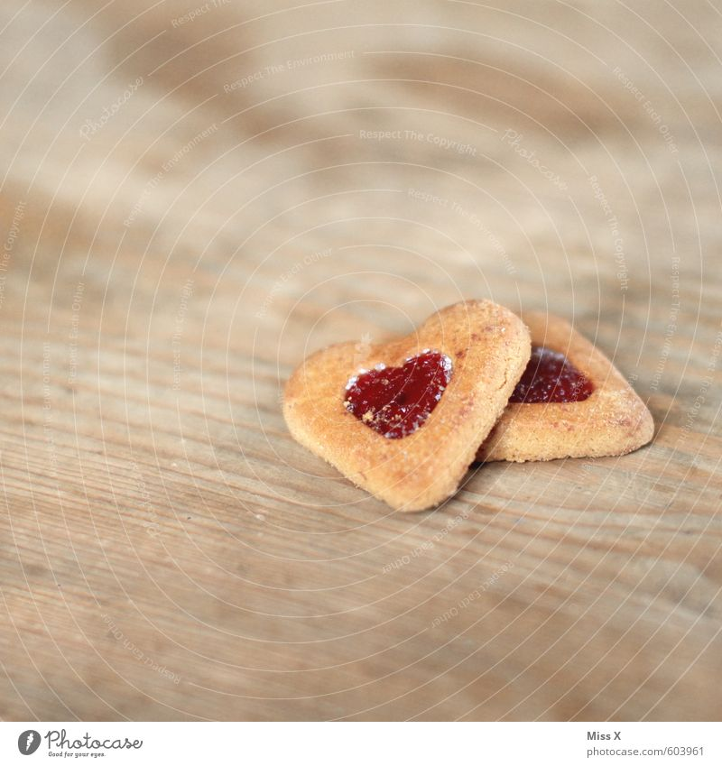 biscuit Food Dough Baked goods Candy Jam Nutrition To have a coffee Valentine's Day Heart Delicious Sweet Emotions Moody Love Infatuation Romance Cookie