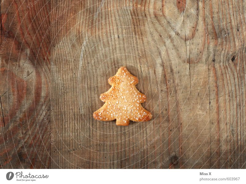 Christmas & Advent Tree Small Wood Food Nutrition Sweet Cooking & Baking Candy Delicious Christmas tree Fir tree Baked goods Sugar Dough Cookie