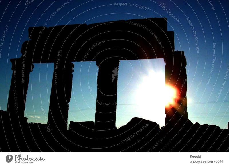 Sun Vacation & Travel Warmth Architecture Physics Column Turkey Dazzle Aperture