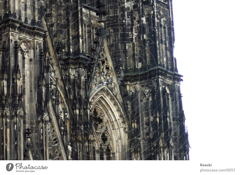 Black Religion and faith Cologne Dome God Deities Cathedral Rhine House of worship Christianity Cologne Cathedral