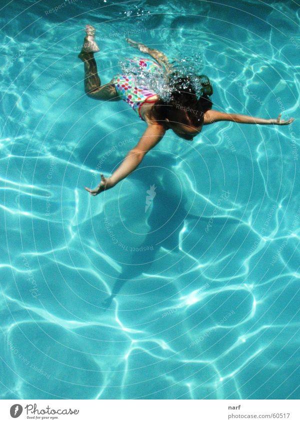 Girl Summer Swimming pool