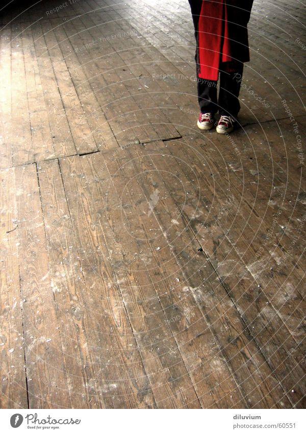 Red Wood Feet Building Footwear Wooden board Chucks