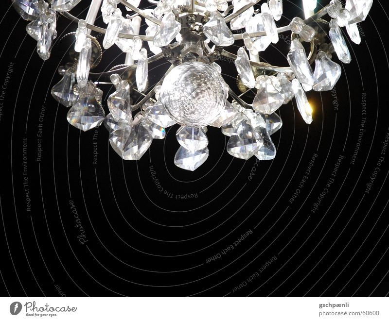 versailles Chandelier Lamp Luxury Glittering Glass Crystal structure Reflection
