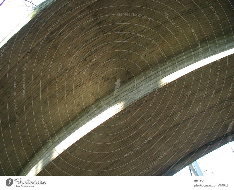 Street Architecture Concrete Bridge Radius