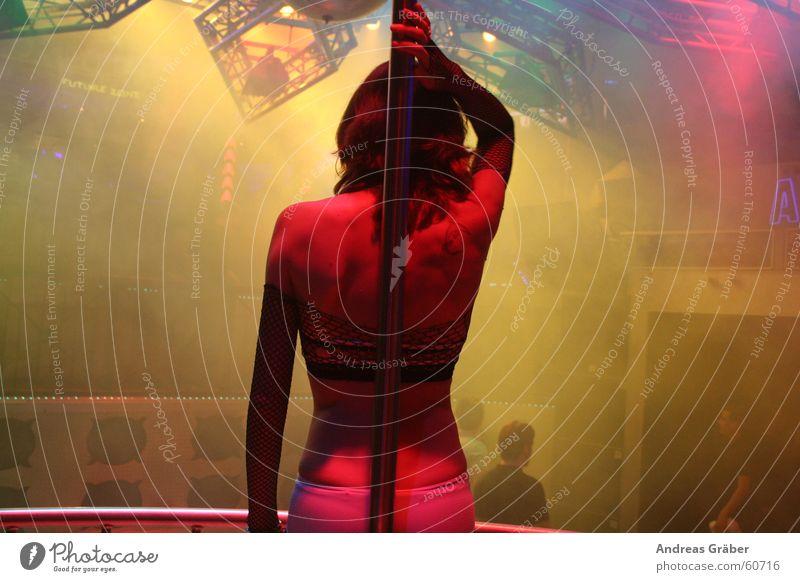 Gogo-Girl in discotheque Disco Gogo dancer Woman gogo girl
