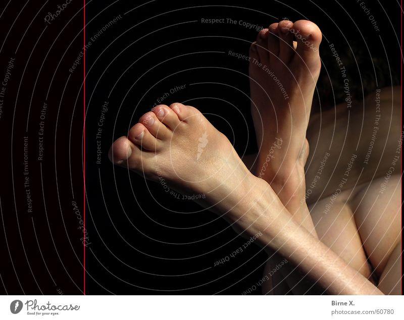 Woman Beautiful Feminine Eroticism Naked Feet Back Bottom Serene Nude photography Barefoot Toes Fetishism Woman's leg Delightful