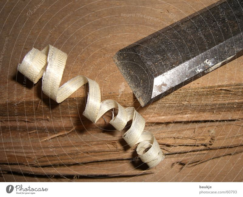 wooden curl Wood shavings Spruce Fir tree Wooden board Tree Broach Pry bar Iron Joiners workshop Crack & Rip & Tear Torn Slivered Wood flour span Shavings this