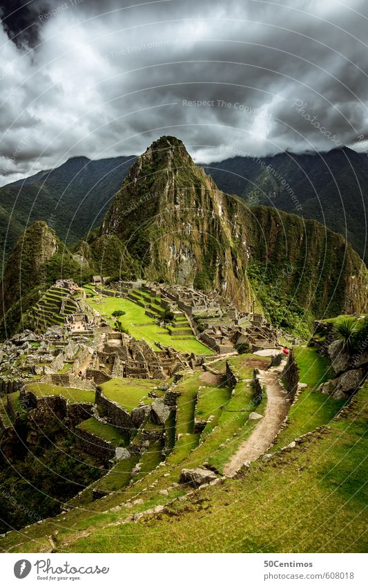Clouds over the wonder of the world Machu Picchu Vacation & Travel Tourism Trip Adventure Far-off places Freedom Sightseeing City trip Mountain Climbing