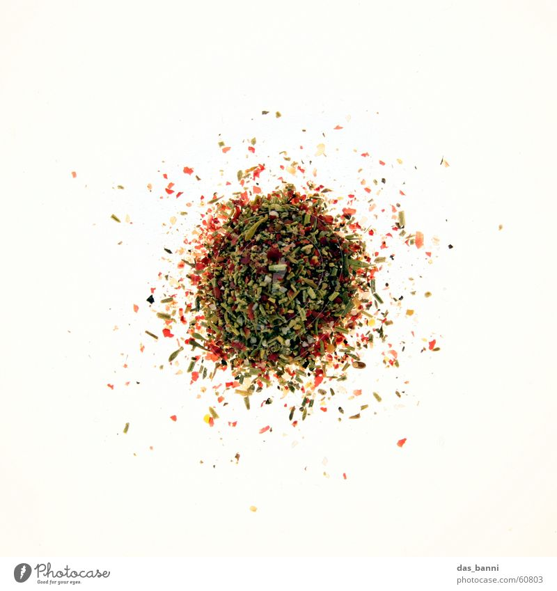 rounding #5 Spiced pepper Milled Mixture Multicoloured Herbs and spices Round Dark White Black Brown Light Nutrition Row Green Red Light table Heap Distributed