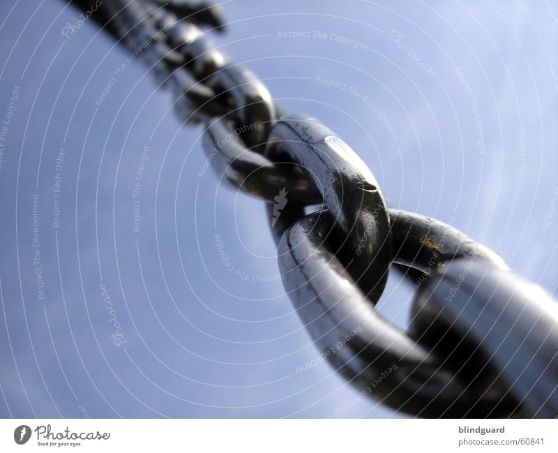 Heavens Chains Chrome Steel Power Roleplay Detail Macro (Extreme close-up) Close-up Force Sky heaven Might
