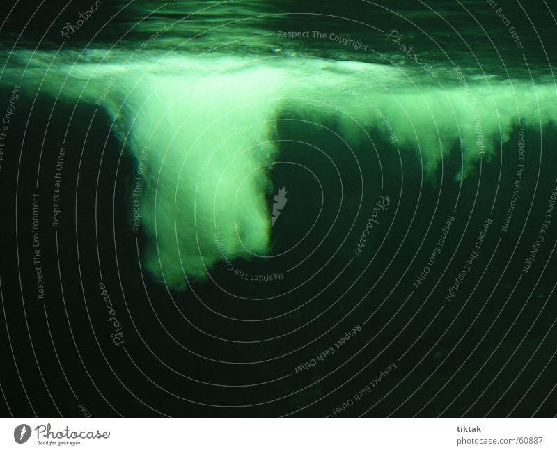 Water Ocean Green Air Dive Mysterious Aquarium Air bubble Mystic Eerie Oxygen