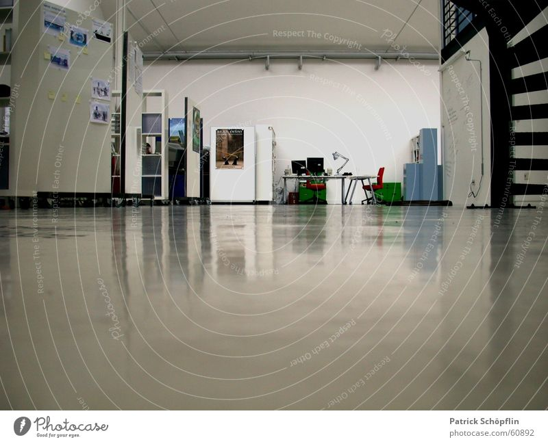 White Work and employment Office Room Floor covering