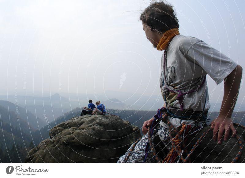 View from the Lehnsteigturm Climbing Landscape