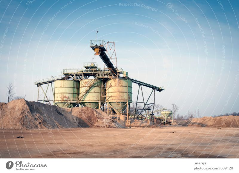 Sand Metal Work and employment Earth Technology Industry Construction site Factory Cloudless sky Steel Economy Containers and vessels Advancement