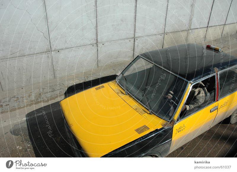taxi #2 Egypt Cairo Taxi Open Driving Concrete Pedestrian Yellow Gray Tar Alexandria Street drive car grey