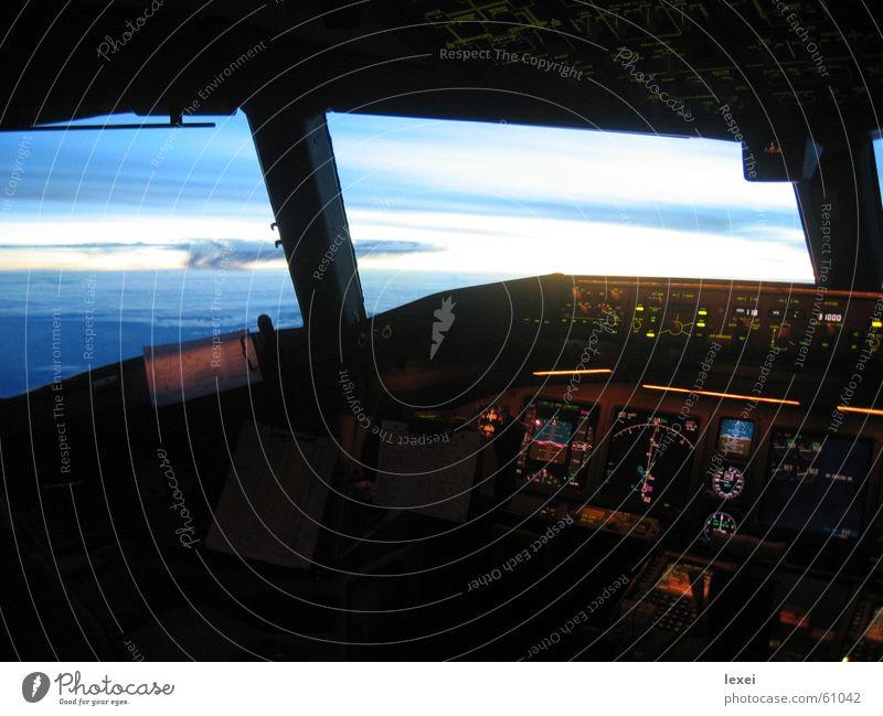 777 cockpit Cockpit Panorama (View) ^777 Sky Large