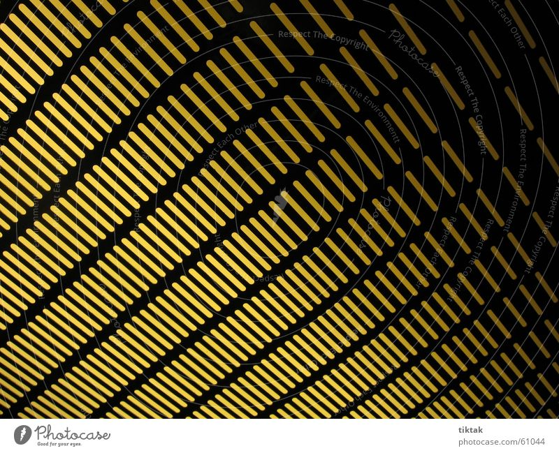 yellow/black diagonal Light Grating Background picture Yellow Stripe Black Diagonal Line Pattern Lamp Lighting