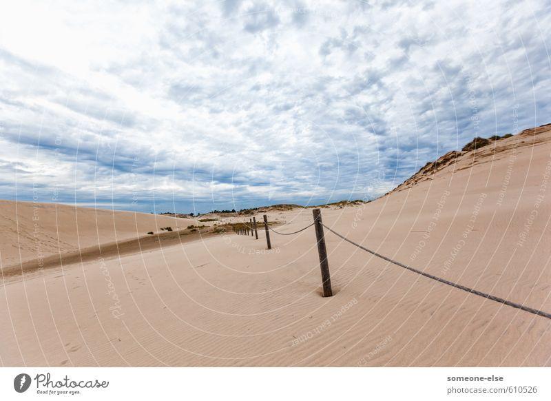shifting sand dunes Vacation & Travel Tourism Trip Adventure Summer Beach Ocean Sand Landscape Baltic Sea Słowiński Park Narodowy Łącka Góra