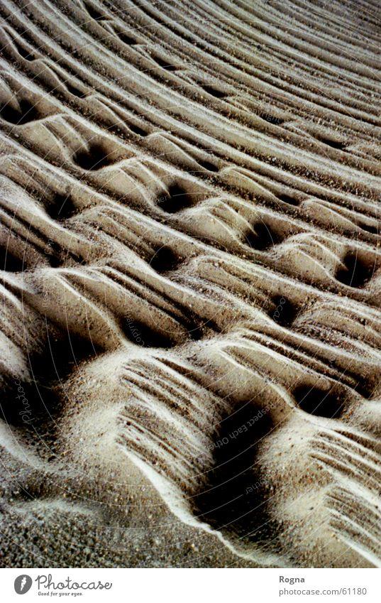 Vacation & Travel Movement Stone Sand Circle Desert Furrow Scratch