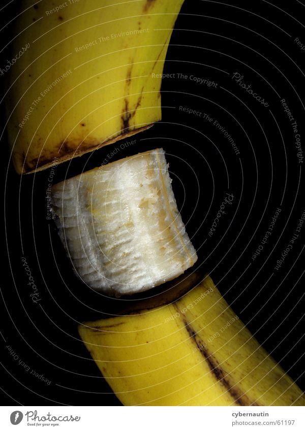 Yellow Brown Fruit Banana Spoiled