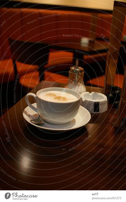 Café Latte Table Wooden table Sugar Brown Coffee café. café latte cappuccino milk foam Orange