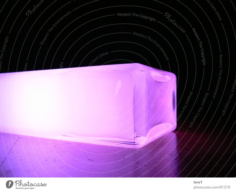 cube201 Light Lamp Multicoloured Long exposure Cube Colour future Bright Illuminate