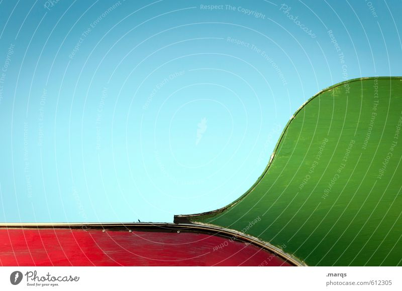 Blue Green Colour Red Style Wood Line Background picture Metal Design Esthetic Simple Uniqueness Round Cloudless sky