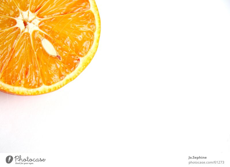 Summer Healthy Orange Fruit Food Fresh Nutrition Round Wellness Part Division Diet Kernels & Pits & Stones Fruit flesh