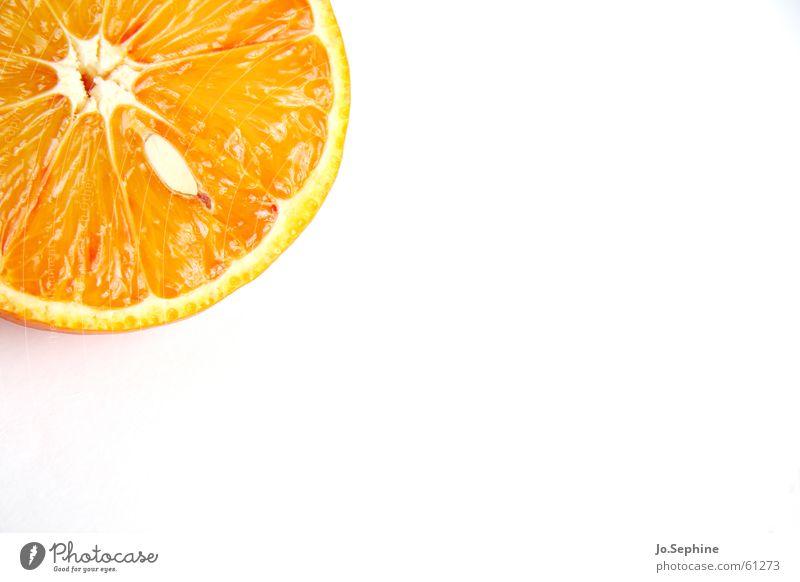 Summer Healthy Orange Fruit Food Fresh Nutrition Round Wellness Part Division Diet Kernels & Pits & Stones Fruit flesh