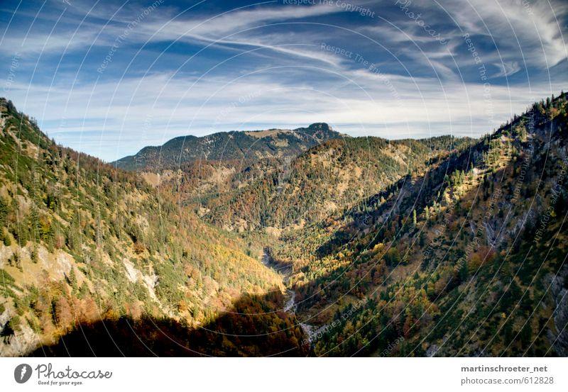 Sky Nature Plant Landscape Mountain Autumn Air Hiking Beautiful weather Alps