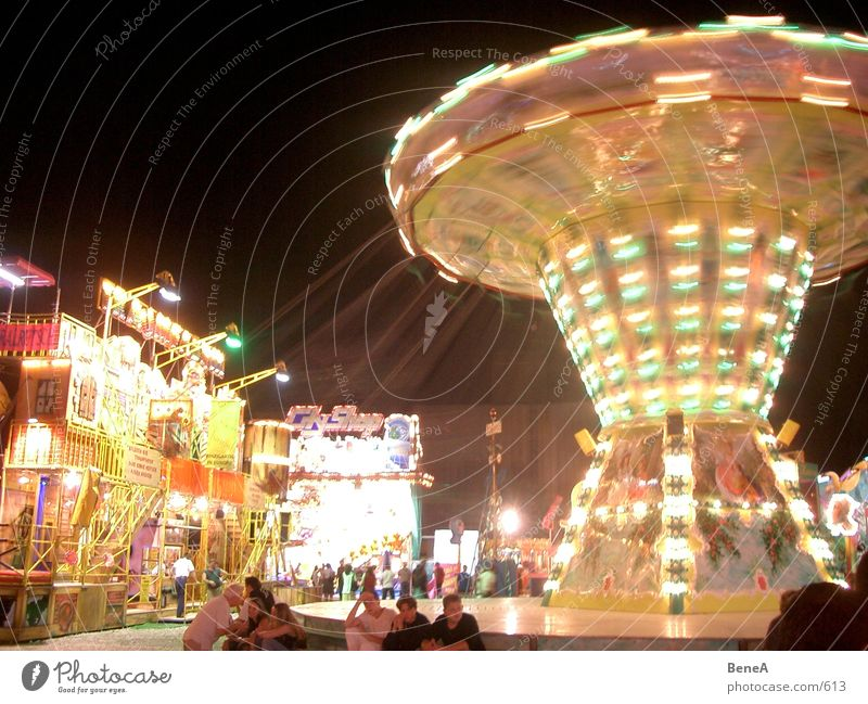Joy Feasts & Celebrations Club Fairs & Carnivals Carousel Night life Theme-park rides Chairoplane Spring celebration