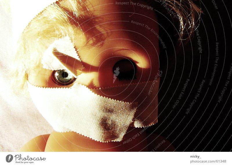 Eyes Dark Death Bright Blonde Bed Doll Shabby Evil Brash Corpse Extra Zombie