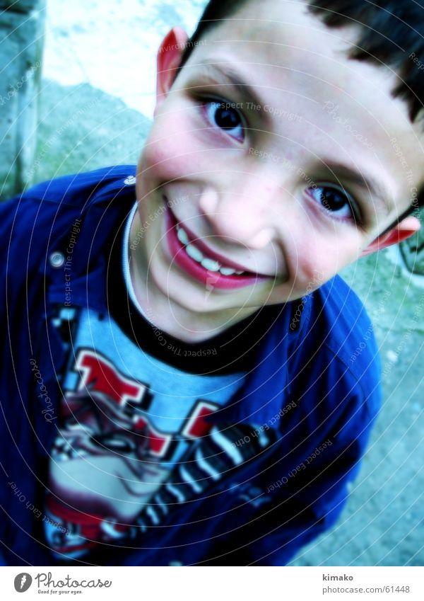 Child Joy Face Eyes Boy (child) Happy Grinning Lomography