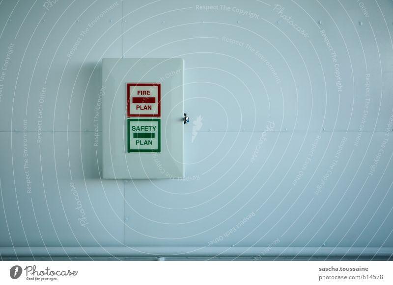 Green White Red Cold Metal Arrangement Dangerous Signage Blaze Clean Safety Plastic Fear of death Trust Positive Box