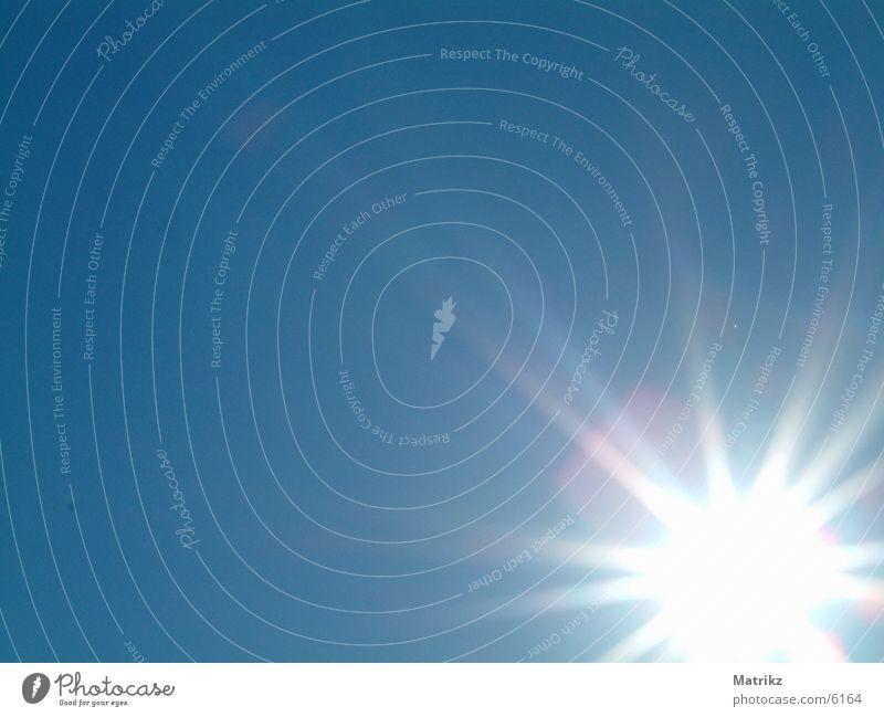 Sky Sun Blue Lighting Stars Star (Symbol) Blooming