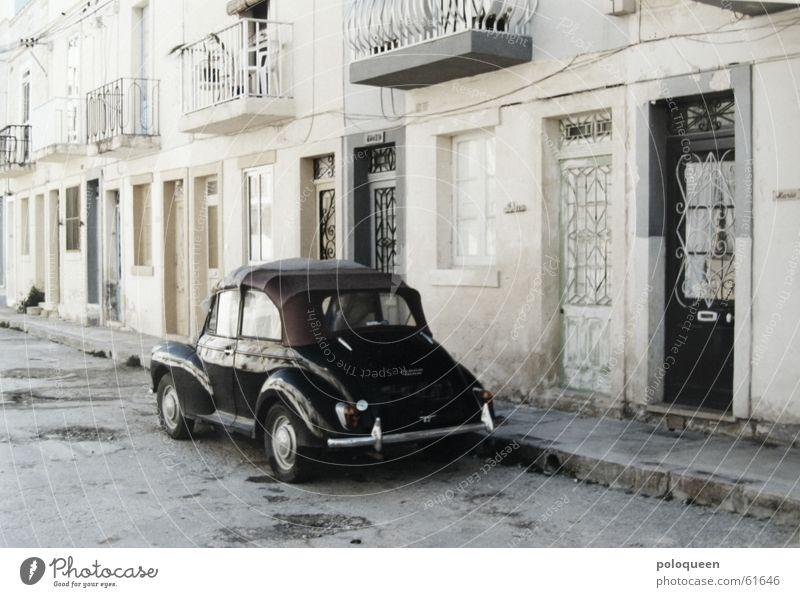 Black Street Car Door Driving Balcony Vintage car Old-school Malta