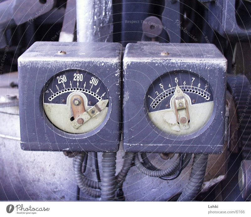 The Machine Machinery fittings Metal Display
