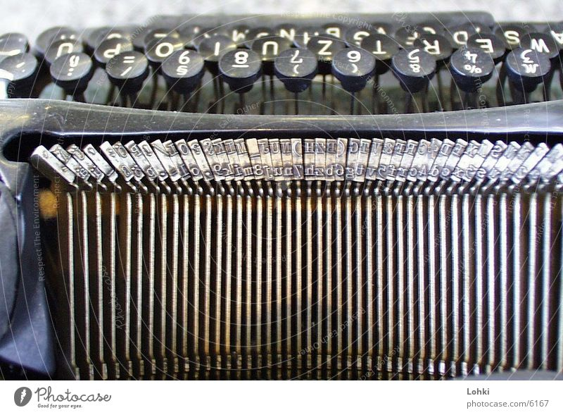 type writer Typewriter Things Metal Touch