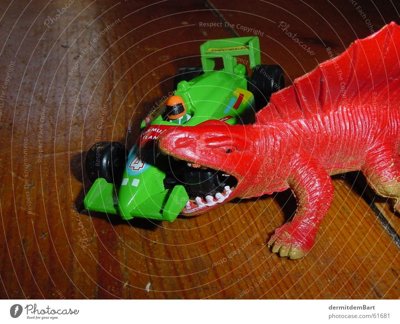 pit stop Dinosaur Green spinosaurus Car f1 Mechanic pitstop