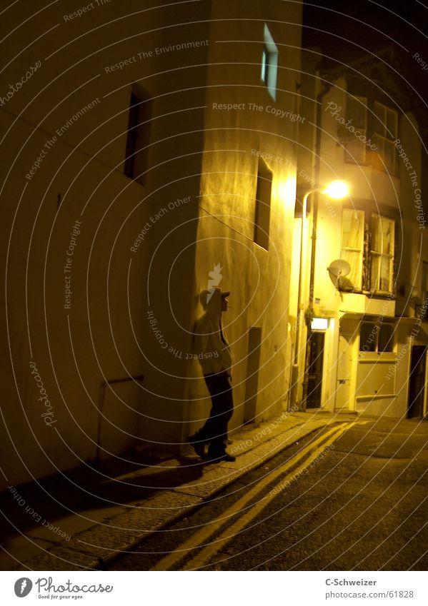 House (Residential Structure) Street Dark Lantern Guy England Alley
