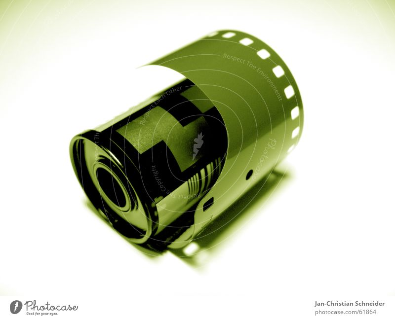Green Film industry Camera Analog Illuminate Negative