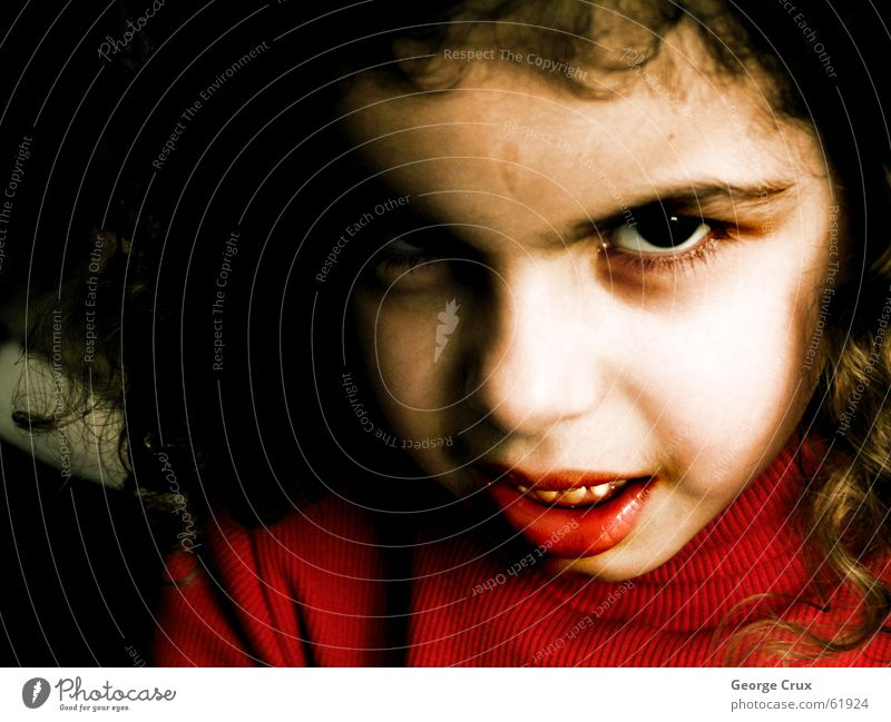 COLOR 35 Child evil demon