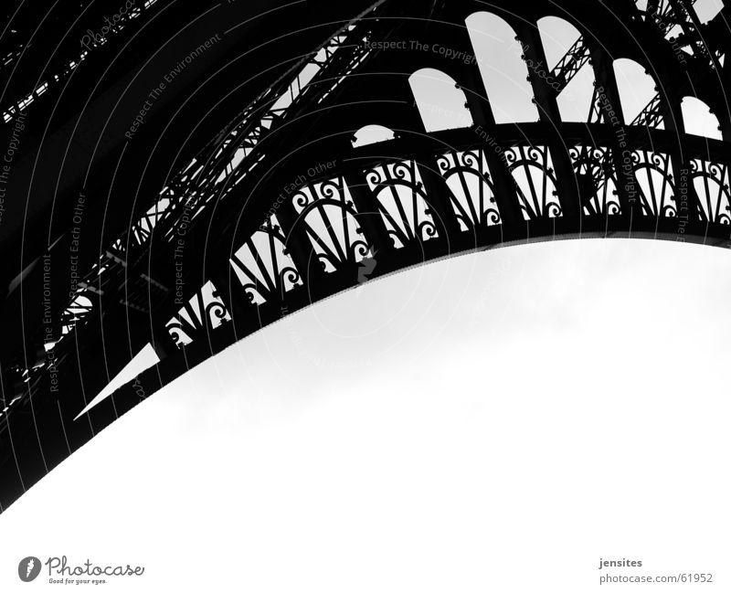 Art Europe Round Tower Paris France Construction Iron Arch Swing Tourist Attraction Eiffel Tower