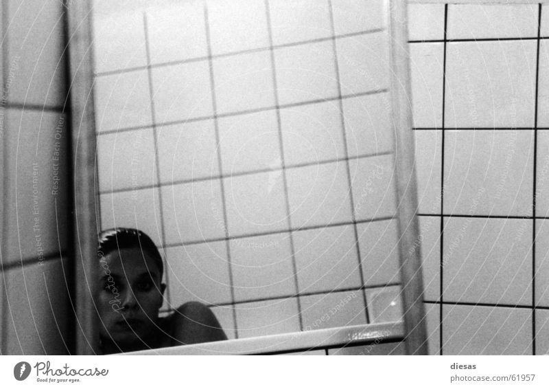 Hair and hairstyles Bathroom Mirror Tile Bathtub