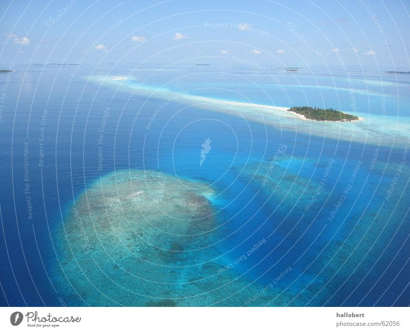Ocean Beach Vacation & Travel Coast Island Maldives Dream island