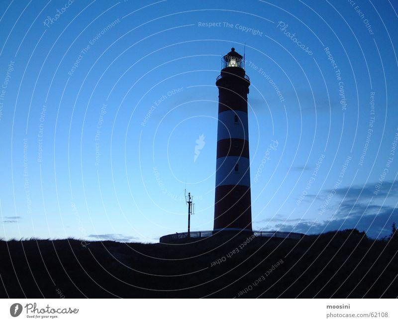 Lighthouse on Amrum Twilight North Sea