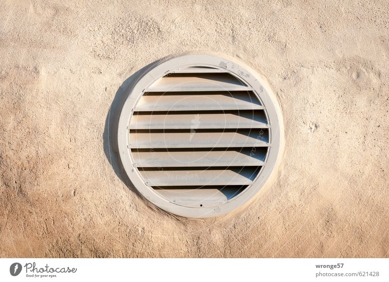 Wall (building) Wall (barrier) Stone Round Plastic Grating Circular Covers (Construction) Opening Ventilation