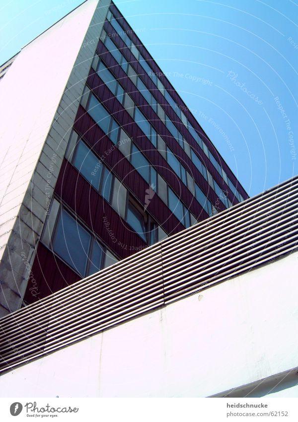 Sky City Window Stone Flat (apartment) Leipzig GDR Prefab construction Saxony Sharp-edged Ambitious New settlement
