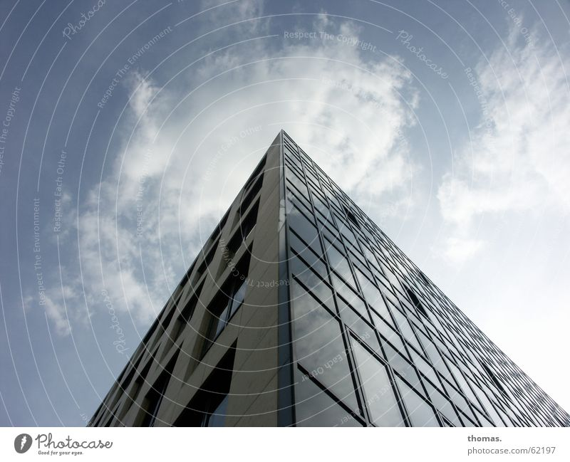 What's up there? (1) Cologne Clouds High-rise House (Residential Structure) Window Simplistic Absurdity Recently zeughaus street Sky Simple nothing on it Great